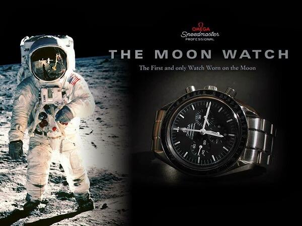đồng hồ omega lên mặt trăng